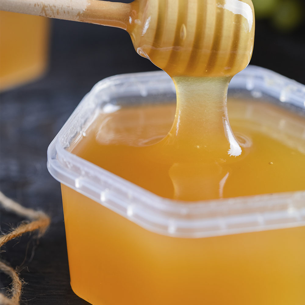 Высокогорный мед. 2021  г. (500 гр)
