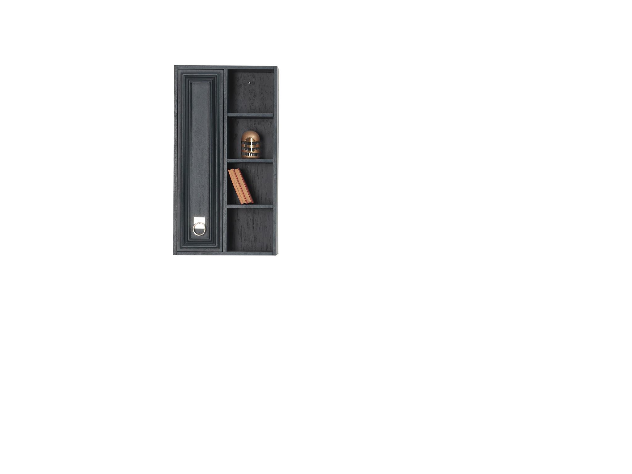 Настенный Шкаф ELEGANTE темно-синий левый