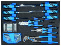Набор инструмента в СТ ложементе, 49 шт., 417x315x35 мм | Gedoretools.ru