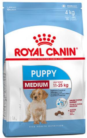 Royal Canin Medium Puppy сухой корм для щенков средних пород с 2 до 12 месяцев
