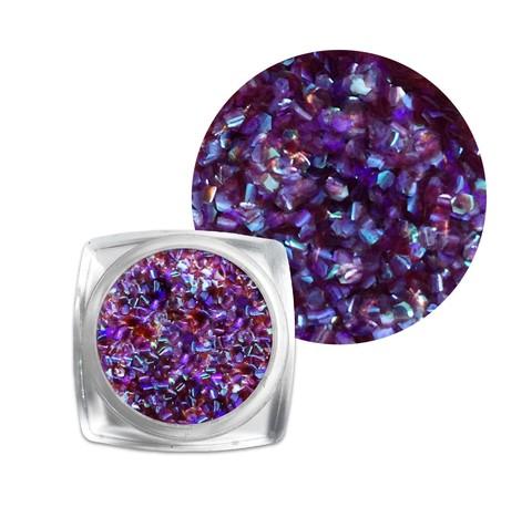 Чешуя для дизайна фиолетовая купить за 150руб