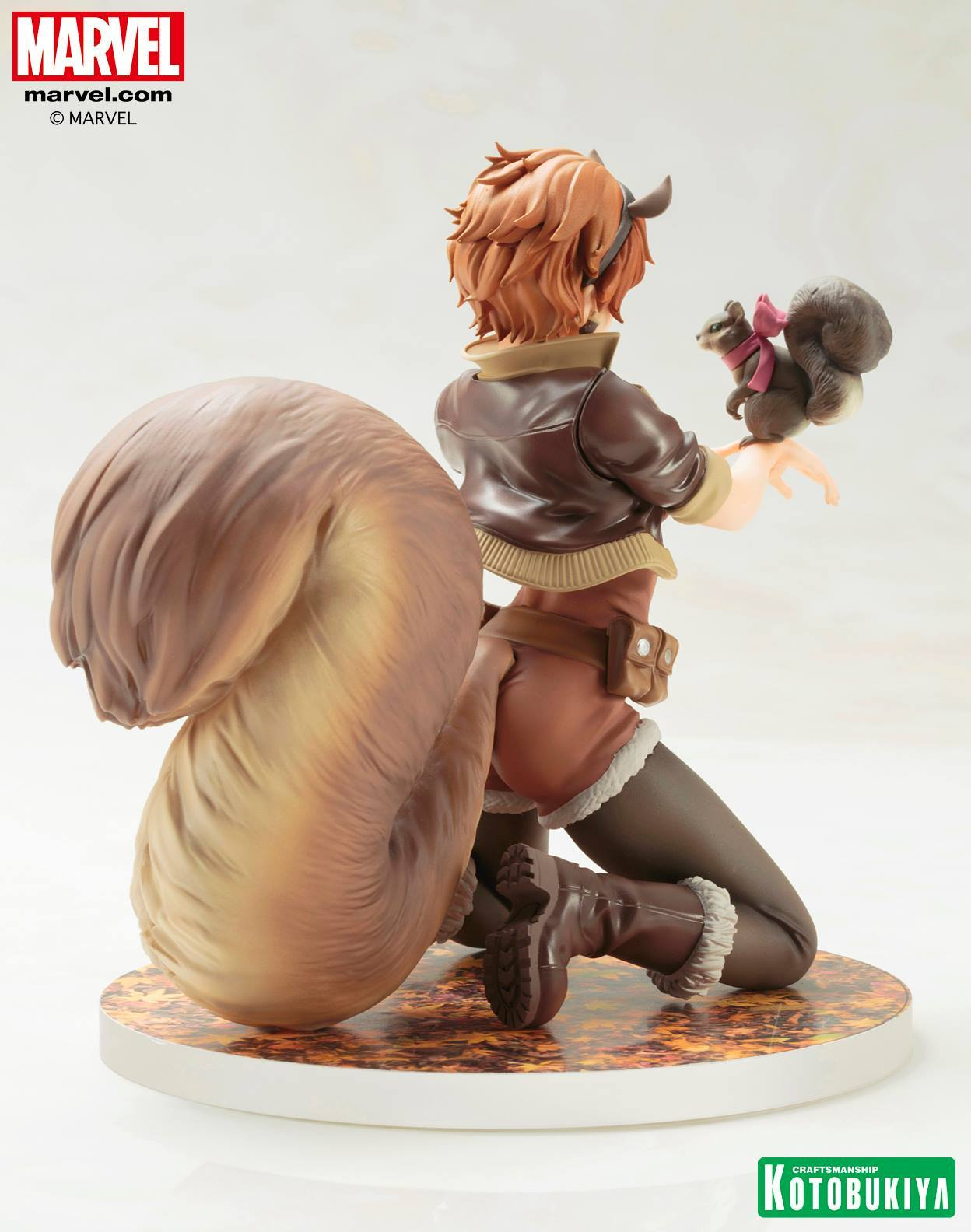 Бисёдзё фигурка Марвел Девушка Белка — Bishoujo Marvel Squirrel Girl