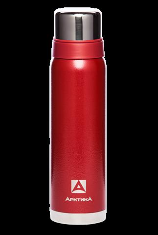 Термос Арктика (106-900 красный) 0,9 литра с узким горлом американский дизайн, красный