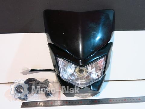 Фара эндуро Kawasaki KLX 250 чёрная