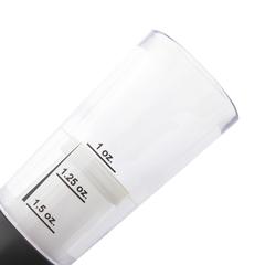 Джиггер, высота 11 см, деления: 30 мл, 37,5 мл, 45 мл, пластик, серия Clasica, 791700, IBILI, Испания