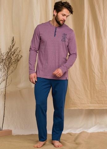 Пижама мужская со штанами KEY MNS 347 20/21