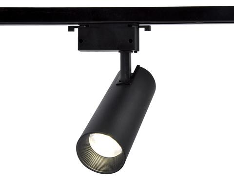 Трековый однофазный светодиодный светильник GL5860 BK черный LED 30W 4200K 24°