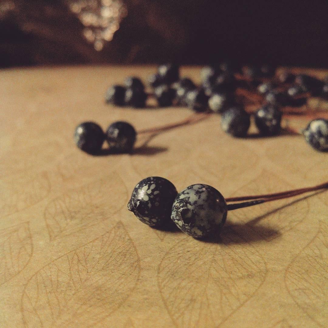 Ягоды черники, 1 см