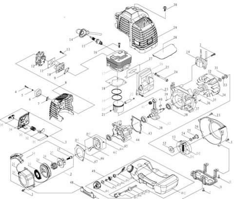 Двигатель для лодочного мотора T3,5 Sea-PRO