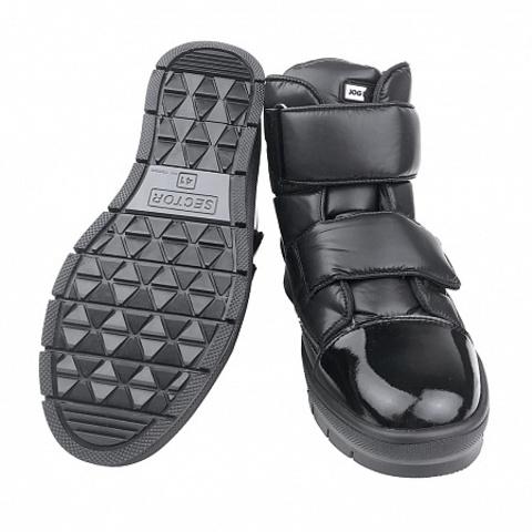 Jog Dog зимние ботинки NAVIGATOR (черный балтико) для девочки