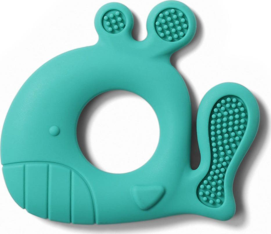 BabyOno - Силиконовый прорезыватель для зубов Китёнок PABLO (мята)