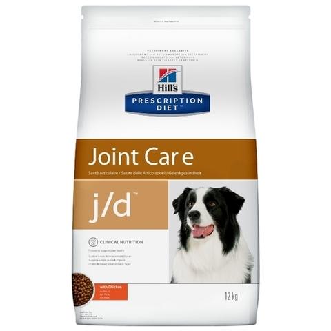 Hill's Prescription Diet J/D Canine Mobility dry 12 кг