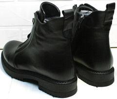 Ботинки демисезонные женские кожа Tina Shoes 292-01 Black.