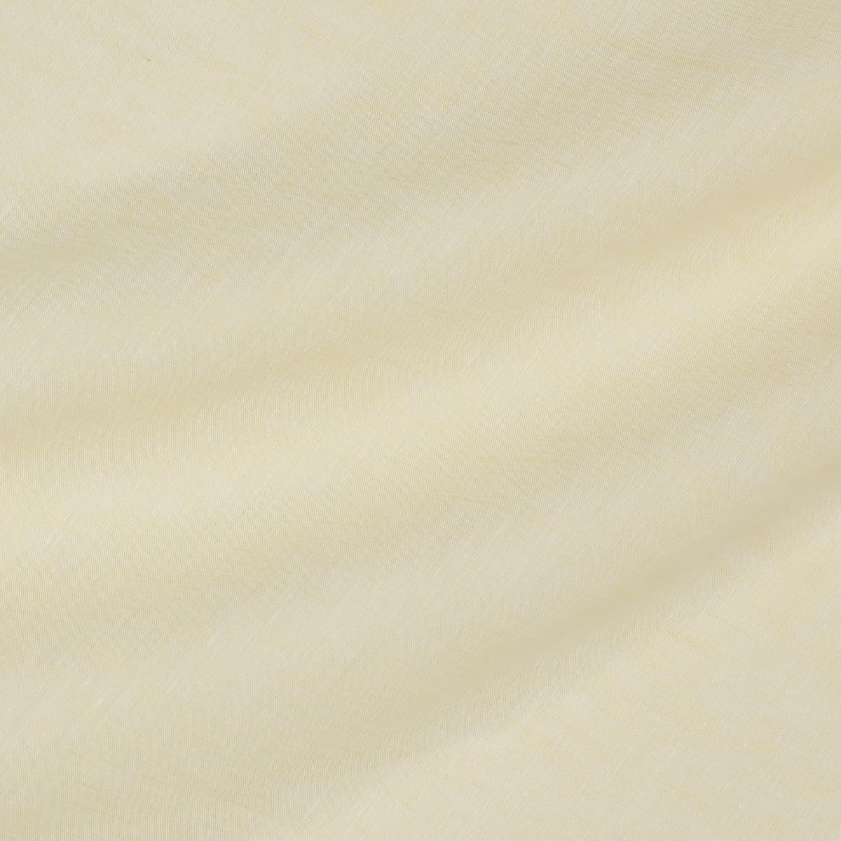 Тонкое льняное полотно бледно-жёлтого цвета
