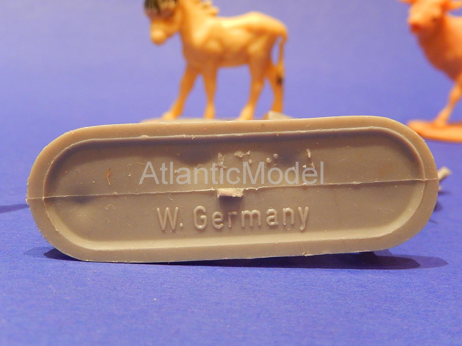 Hofler 1/32 021 Животные W.Germany Набор из 9 фигур