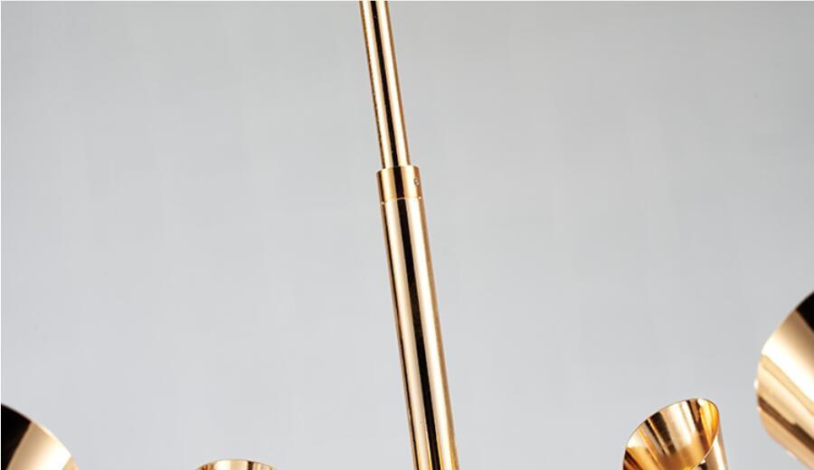 Потолочный светильник копия Duke by Delightfull (8 плафонов, белый)
