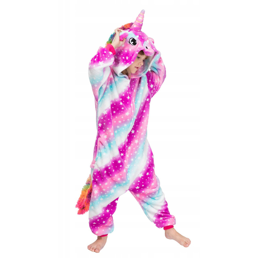 Плюшевые пижамы Волшебный Единорог детский 111.jpg