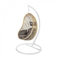 Подвесное кресло КМ-2010 из натурального ротанга