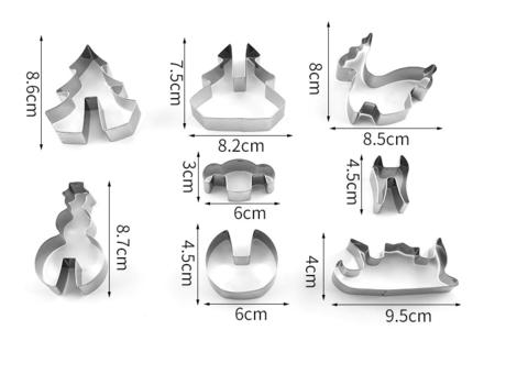 Формы для создания 3D пряников