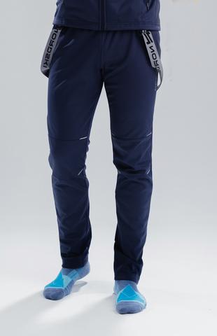 Разминочные брюки Nordski Premium Blueberry мужские