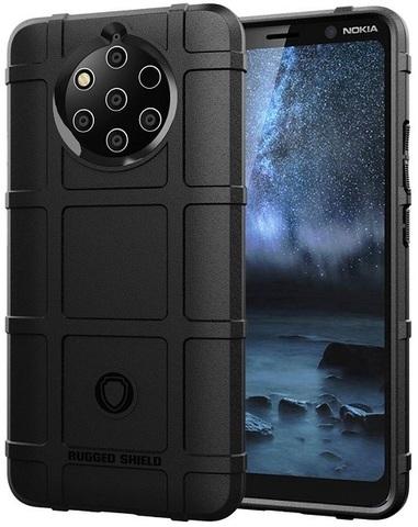Чехол на Nokia 9 PureView цвет Black (черный), серия Armor от Caseport