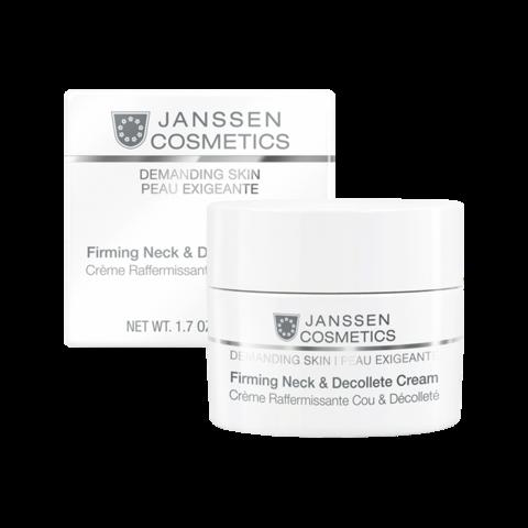 JANSSEN | Укрепляющий крем для кожи лица, шеи и декольте / Firming Face, Neck & Decollete Cream, (50 мл)