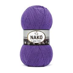 Lame fine NAKO (96% премиум акрил, 4% металлическая нить, 100гр/440м)