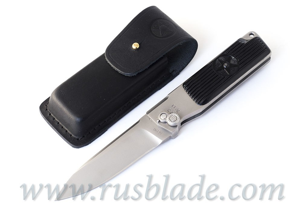 Custom Urakov T3 M390 steel Folding knife