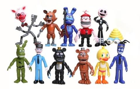 Коллекция персонажей из 5 ночей