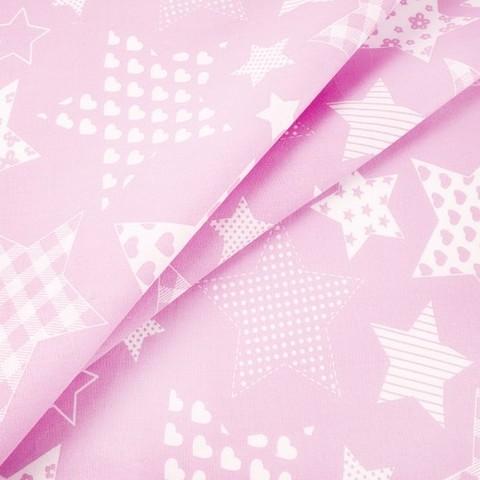 Бязь плательная 150 см 1683/2 цвет розовый