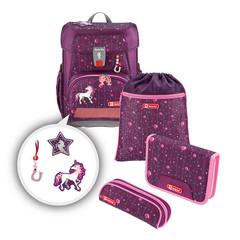 Ранец Step By Step Cloud Dreamy Unicorn темно-розовый 4 предмета