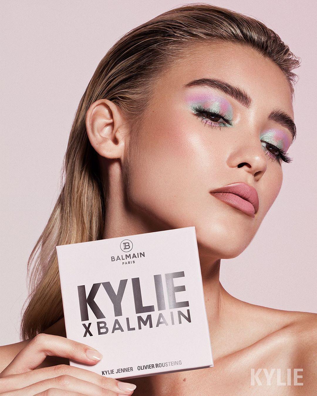 "Kylie x Balmain palette ""Kyshadow"