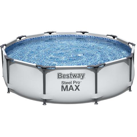 Каркасный бассейн Bestway 56408 (305х76 см) с картриджным фильтром / 16578