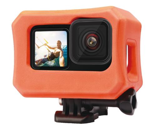 Поплавок- рамка для GoPro HERO 9 (оранжевый)