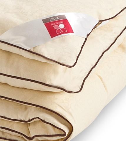 Одеяло теплое из шерсти кашемировой козы Милана 172x205