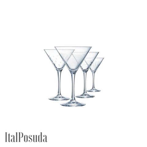 Набор бокалов для коктейля Eclat Cristal d'Arques Illumination (Иллюминейшн), 4 шт L7562