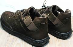 Молодежные туфли мужские демисезонные Luciano Bellini 71748 Brown