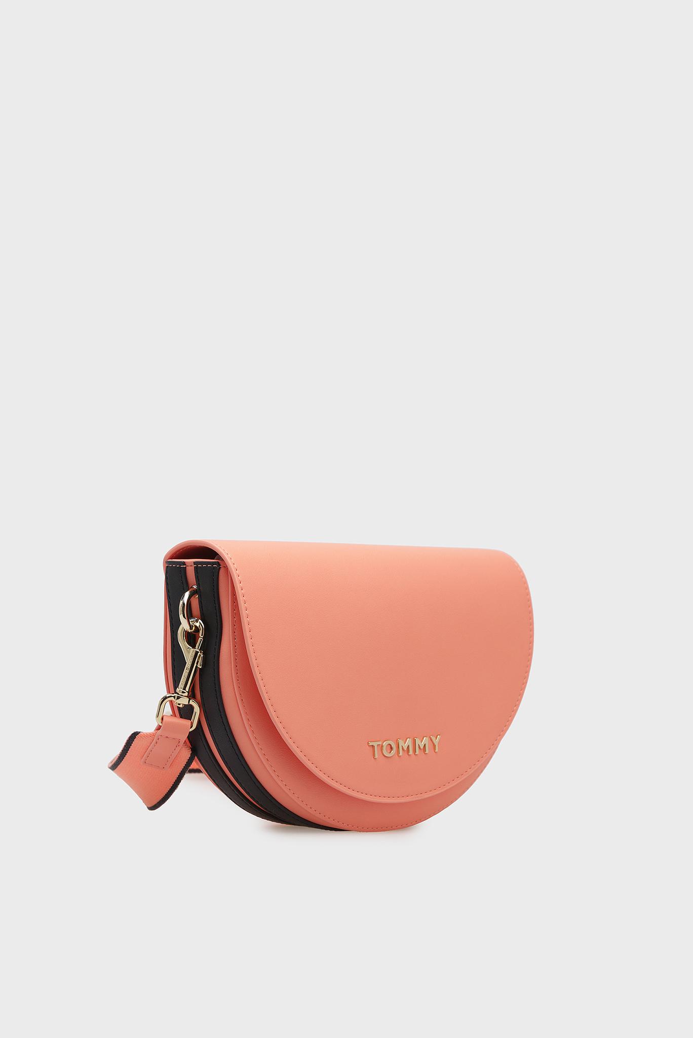 Женская оранжевая сумка через плечо STAPLE SADDLE Tommy Hilfiger