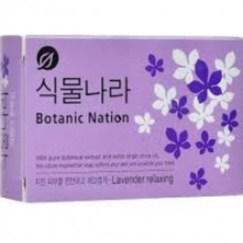 LION Мыло Botanical Nation Экстракт лаванды 1 шт.