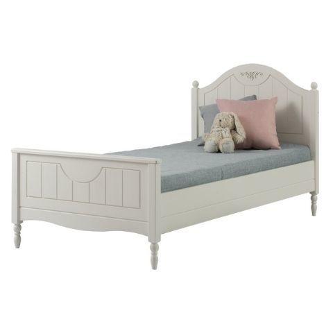 Кровать односпальная Айно 6 (белый скандик)