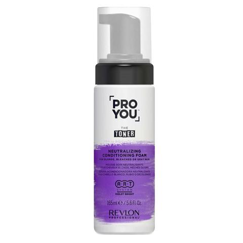 REVLON ProYou Toner: Нейтрализующая пена для светлых, обесцвеченных волос (Neutralizing Conditioning Foam), 165мл