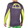Рашгард Manto Logo Green L/S