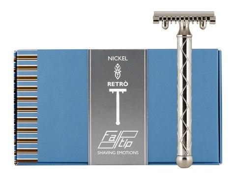 Fatip Retro Nickel длинный красивый станок.Сделано в Италии