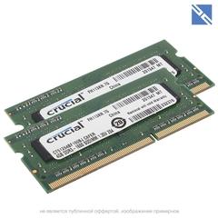 Комплект модулей памяти Crucial 8Gb для Apple iMac 2011 (2x 4GB) 1600MHZ DDR3L SO-DIMM PC4-12800 1.35V
