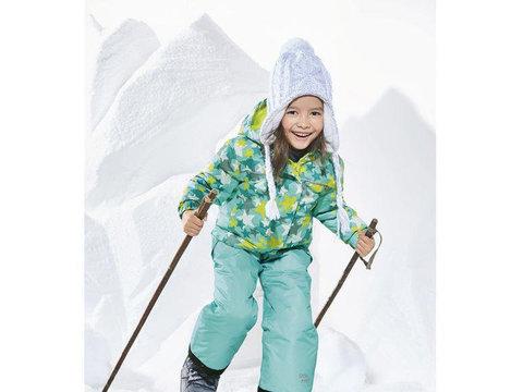 Куртка для девочки ветрозащитная подкладка флис Lupilu