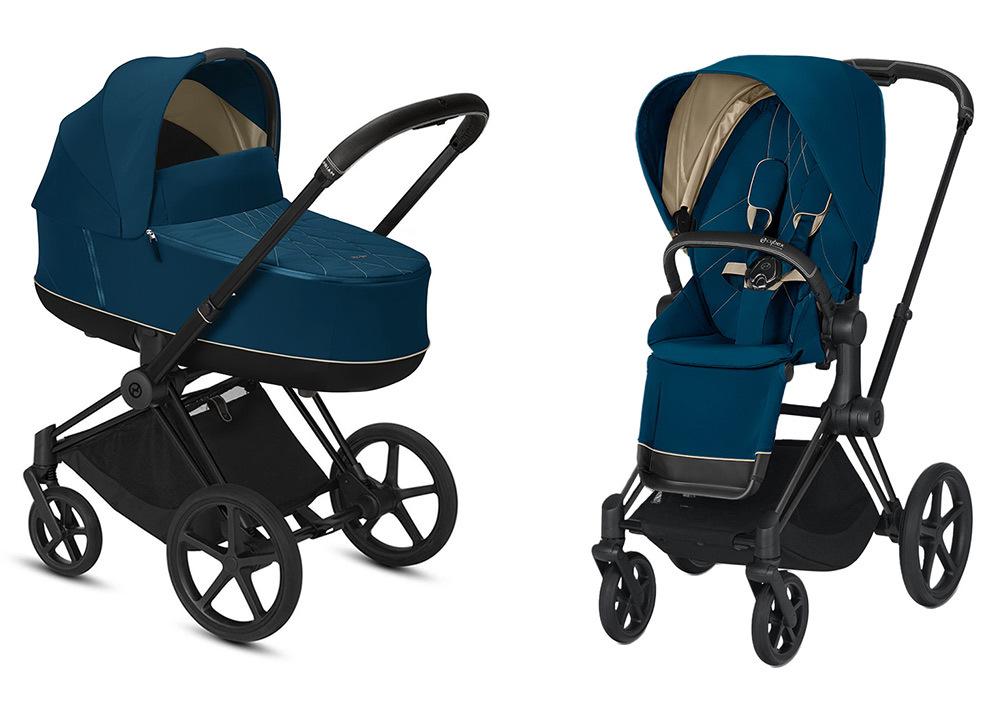 Цвета Cybex Priam 2 в 1 Детская коляска Cybex Priam III 2 в 1 Mountain Blue шасси Matt Black cybex-priam-iii-2-in-1-2020-mountain-blue-matt-black.jpg