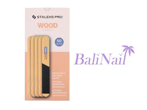Пилка деревянная одноразовая прямая (основа) EXPERT 20 (50 шт)