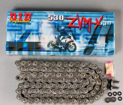 Приводная усиленная цепь DID 530 ZVMX-122(Black)