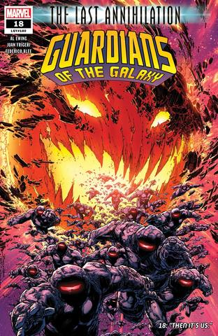 Guardians Of The Galaxy Vol 6 #18 Cover A