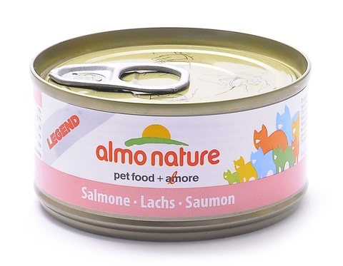 Консервы (банка) Almo Nature Legend Adult Cat Salmon